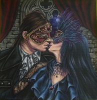 Night Masquerade by AntonellaDAmato
