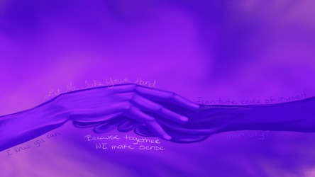 Challenge 87 Amethyst - Together by Seraphyne