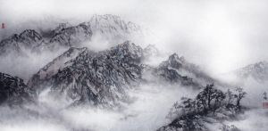 cold mountains lingnan style by blackbeat