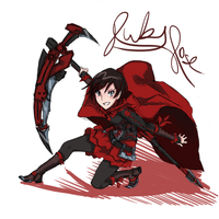 Shattered Tomorrow | Ruby Rose by AaronKTJ