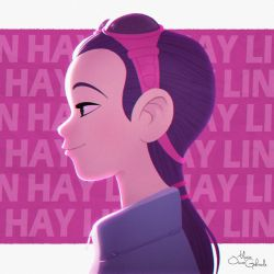 Hay Lin from Disney's W.i.t.c.h. by MarioOscarGabriele