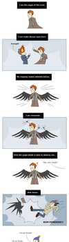 SPN: Angel of the Lord [kind of SPOILER] by PheaVampire