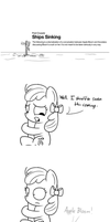PC: Ships Sinking (Scootaloo Talks To Apple Bloom) by postcactus