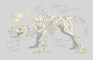 Charna: Demon of Appetition by MBPanther