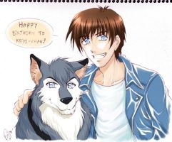 HBD Krystle : Wolf Brothers by Zue