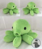 Octopus Plushie by TheRuffledRaven