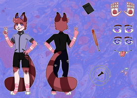 Riley Charater Sheet drawn by meowthatsme by ookazii