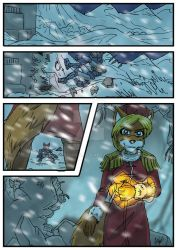 Chronicles of Polaris Comic Page 8 PREVIEW by MikeOrion