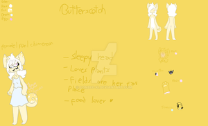 Butterscotch Ref //not approved// by Bee-the-pancake-cat