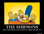The Simpsons Motivational Poster by slyboyseth