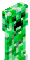 Creeper Isometric Projection by ZushidotomoThe3DHero