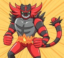 Incineroar by sl4ughtermelon