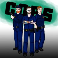 Let's Play GTA IV - Cop Gents by pixie-blue