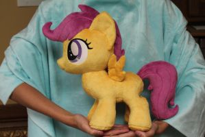 Scootaloo by WhiteDove-Creations