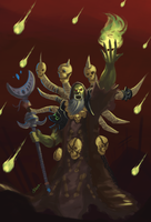 Gul'dan fanart by Rithinor