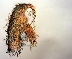 Princess Merida III by hayleyisbored
