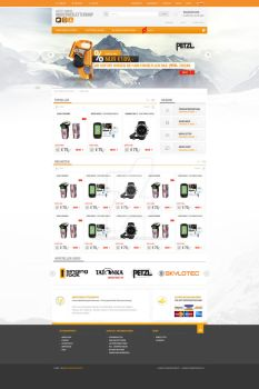 Alpine shop template