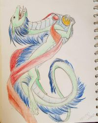 Chinese Dragon by Shayaga