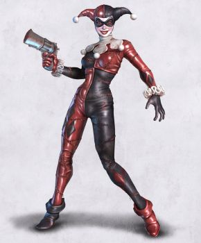 Harley Quinn Reloaded by HecM