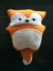 Little Fox Plush by madizzlee