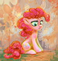 Sad pinkie by pondis-dant