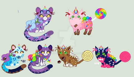 Orchid Bee x Confection/Unicat Breeding/CLOSED! by kitten226