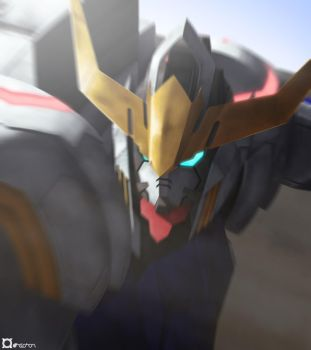 Iron-Blooded Barbatos by orihalchon