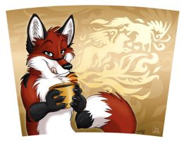Coffee mug EosFoxx by TaniDaReal