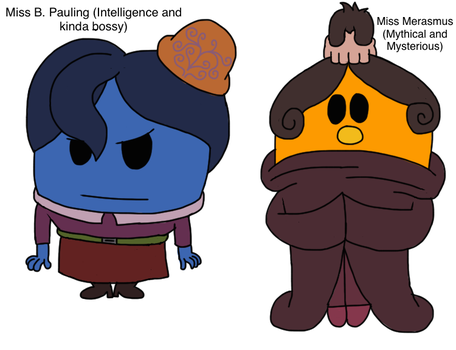 The Side Gals (Mr. Men/Tf2 Crossover) by Seadragirl12