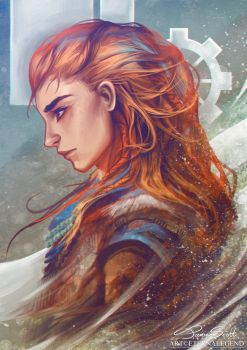 Aloy - Horizon Zero Dawn by EternaLegend