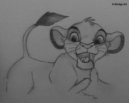 Simba sketch by K-Bridge