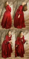 red dress set 2 by magikstock