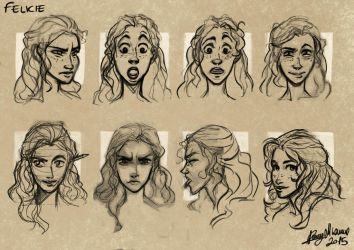 Expressions of Felicie by Sommum