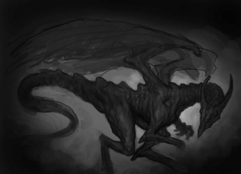Dragon Process by J-e-n-z-y