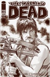 The Walking Dead Day Sketch Cover by 93Cobra