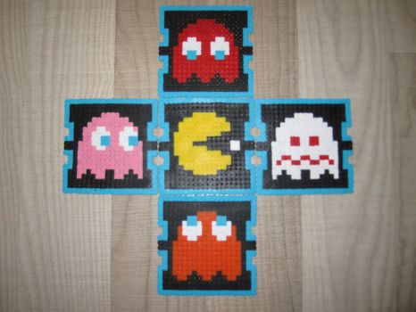 Posavasos de Pac-man by correal87