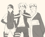 Team Konohamaru by Ruu-k