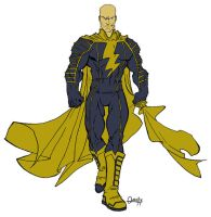 Black Adam Redesign by Lordhaylen