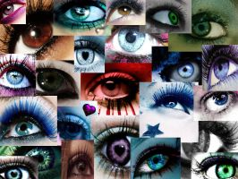 colorful eyes by JuLy-JouLe
