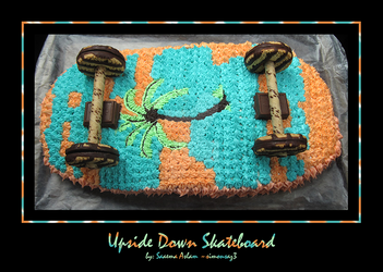 Cake: Upside Down Skateboard by simonsaz3