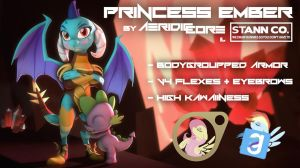 [DL] Princess Ember by AeridicCore