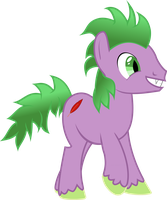 Spike Pony by Exbibyte