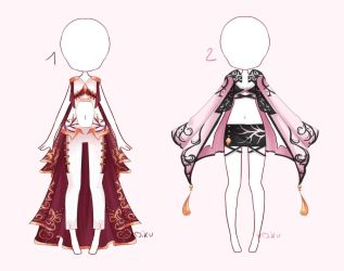 {1/2 Open} SB 5$ - Auction Outfit 269 - 270 by xMikuChuu