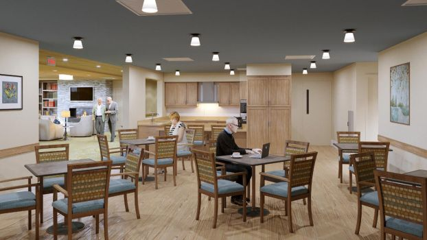 ALF Memory Care  Dining by zodevdesign