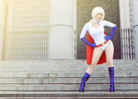 Powergirl - Justice Society of America - DC Comics by FioreSofen