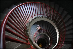 Red Spiral by cuento