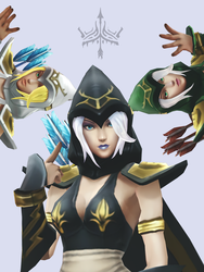 MMD - Ashe the Frost Archer DL by JUchoa
