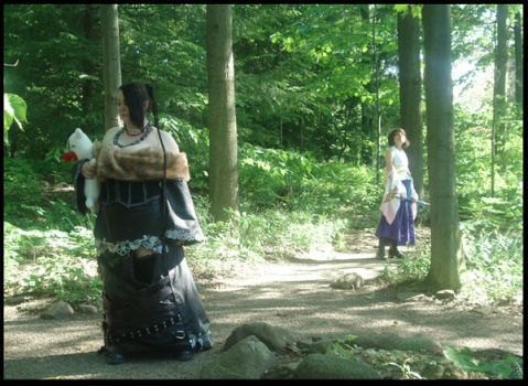 .:FFX Foresty Goodness:. by cosplay-muffins