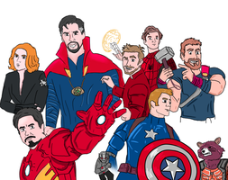 Marvel's The Avengers by MyNameIsEmeralds