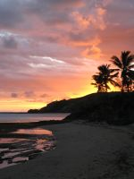 Fiji Sunset 1 by microUgly